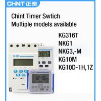 Quality Manual Auto Low Voltage Components Time Control Switch Relay 230V/400V 16A 168h for sale