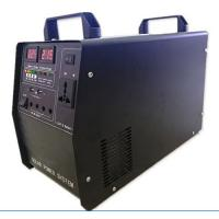 300W Solar Generator home Solar energy System AC 220V/ DC 12V output USB charging outdoor emergency power 100W panel Manufactures