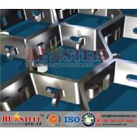 China Flex Metal Grids /hex metal/flat wires for Erosive Flue Gas Streams/standard thickness 2.0mm, height 20mm on sale