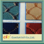 Waterproof Automotive Carpet , Nowoven Carpet Material Hand Tufted Jacquard Manufactures
