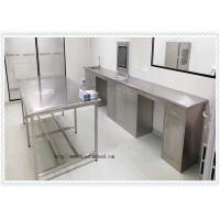 Coating 304 Stainless Steel  Lab Furniture  / SS Work Table High Performance Manufactures