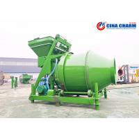 China Self Loading Industrial Portable Cement Mixer , Heavy Duty Compact Concrete Mixer on sale