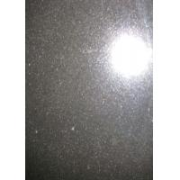 China 60 X 60cm Granite Stone Slabs , Basalt Mongolia Black Granite Slab Tile Cube Paving on sale