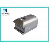 China Aluminum Pipe Fittings Outer Connector  And Claw Mode Oxidation Surface treatment on sale