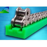 T-type guide with high precision and wear-resistant double row chain guide groove, made with UHMWPE high wear Manufactures