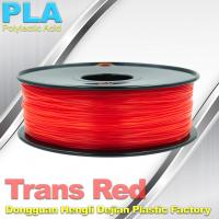 Non-toxic Colorful  1.75mm PLA Filament For 3D Printer Material Small Shrinkage Manufactures