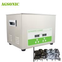 Digital Ultrasonic Cleaner Heater For Machining Stamping Parts Digital Display Timing And Change Heating Function Manufactures