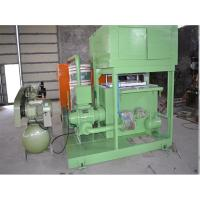 3 Molds Reciprocating Form Paper Egg Tray Machine With Dryer Stable Running Manufactures
