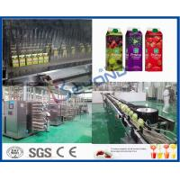 Concentrated Beverage Production Line Fruit Juice Processing Line Electric for sale