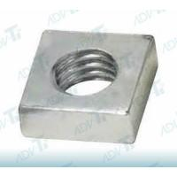 Four Sided Threaded Titanium Nuts Mated With Square Headed Bolts Manufactures