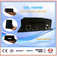 Portable single channel HDMI & AV H.264  iptv encoder support WIFI Manufactures