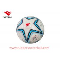 Outdoor Sporting 4# PVC Soccer Ball / training youth soccer balls Manufactures