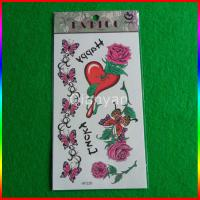 Fashionable Traditional Flowers Temporary Tattoo Sticker Manufactures