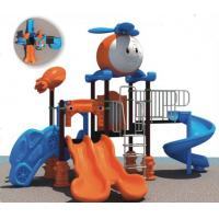 China Chinese supplier big combination slide plastic outdoor playground for student on sale
