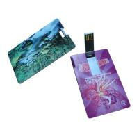 USB Version 2.0 Credit Card USB Stick 16GB KC-939 With Reading At 10Mbps Manufactures