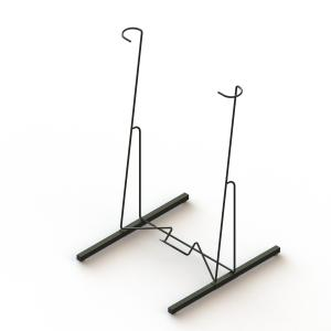 Stand Paddle Board Storage Wall Surfboard Holder With Metal Wire Frame Manufactures