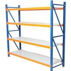 China Durable Medium Duty Boltless Shelving rivet Storage Racking for Sale Long Span Shelving on sale