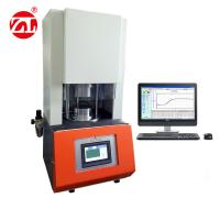 Without Rotor Rheometer Rubber Testing Machine Single - Chip Control / Lab Used Manufactures