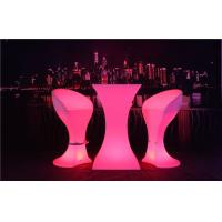 Fireproof LED Sofa Waterproof Rechargeable 4 Flash Modes LED Cocktail Table Manufactures