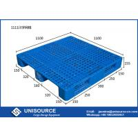 4 Way Single Faced Plastic Storage Pallets 1210 Plastic Roll Ship Blue / Orange Manufactures