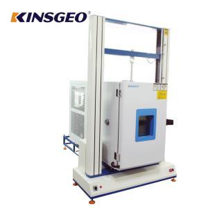 China Class 0.5 20%RH~98%RH Auto Fabric CRE Extension Universal Tensile Testing Machine with Korea TEMI880 on sale