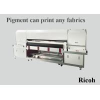 Automatic Cleaning Digital Cloth Printing Machine , Large Format Digital Printer Manufactures