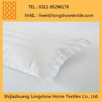 Buy cheap Wholesale Decorative Waterproof Zipper 100%Cotton Pillow Case from wholesalers