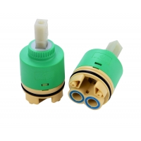 China 40mm Idling double seal faucet valve cartridge with Distributor on sale