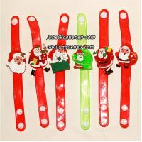 Buy 2014 Christmas gift for friends LED silicone wristband with factory price Manufactures