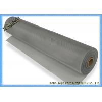 China Anodized Aluminium Insect Screen Mesh 1 X 30 M Roll Epoxy Coating Silver White Color on sale