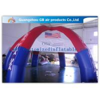 China Colorful Outdoor Dome inflatable tailgate tent personalized canopy tent with 6 Legs on sale