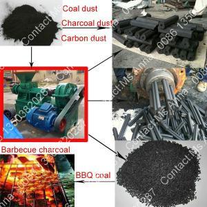 China Hookah Charcoal Making Machine/2013 Hot-selling Charcoal Briquette Extruding Machine/Charcoal Sticks Briquette Machine on sale