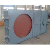 Quality Industrial Desulphurization Baffle Damper Pneumatic Hot And Cold Wind Isolation Door for sale
