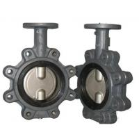 Lug Type Casting Iron Material Concentric Butterfly Valves NPS2-48 Manufactures