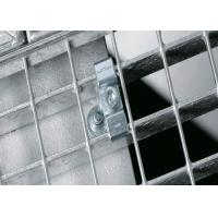 Heavy Duty Galvanized Steel Grating Clips Power Plant Suit ISO 9001 Approval Manufactures
