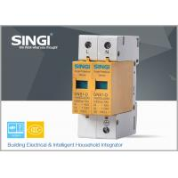 Quality 10 - 20KA Double phase surge protection device for installation in distribution for sale