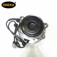 China [ONEKA] Front Wheel hub bearing assembly for Nissa NAVARA Platform Chassis (D40) 2.5 2WD 40202-EB70B 3DUF050F-3 with ABS on sale
