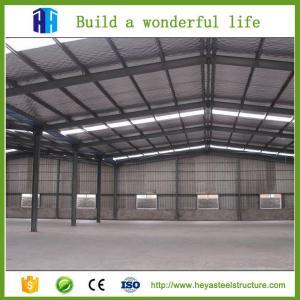 Steel storage building ready made warehouse sandwich panel garage Manufactures