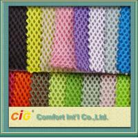 China Multi color air mesh 3D 100% Polyester Mesh Fabric 200-270gsm for upholstery bus seat on sale
