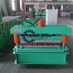 China 0.8mm 2 Years Warranty PPGI Roofing Sheet Roll Forming Machine on sale