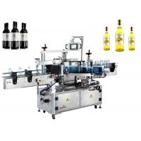Glass Bottle Label Applicator Single Side Automatic Labeler Machine Manufactures