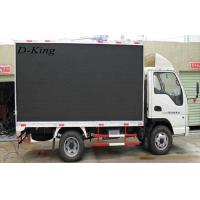 Commercial Moving P12 Truck Mounted LED Display For Road Show , 6944/㎡ Pixel Density Manufactures