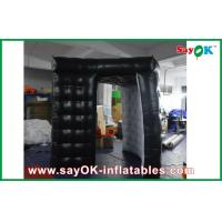 China Black Portable Digital Inflatable Photo Booth Kiosk Tent Waterproof on sale