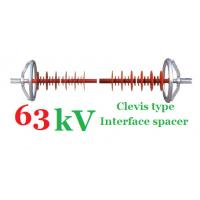 63kV Power Line Insulators Polymer Clevis Type Interface Spacer Manufactures