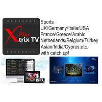 China Australia IPTV Xtrix tv Plus watch Europe USA Arabic EPL sports etc ch with Catch up for Australia and New Zealand users on sale