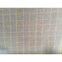 Double Faced Modern Plaid Fabric ,  Soft Tartan Fabric For Curtains Manufactures