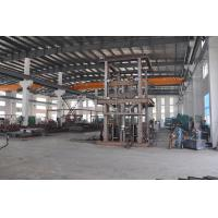 China Save Space 13.5M Lifting Height 1000Kg Loading Capacity Guide Rail Elevator for Steel Structure Workshop on sale