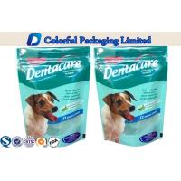 biodegradable Pet Food Packaging Bag , dog food Stand Up Pouch Manufactures