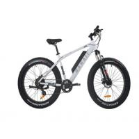 Comfortable Electric Fat Tire Mountain Bike , Fat Tire Electric Bicycle With Bluetooth