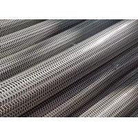 Glass Industry Stainless Steel Wire Conveyor Belt Balanced Weave Long Life Time Manufactures